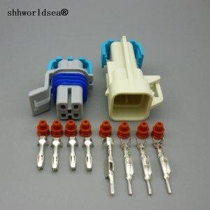 Image 1 - Shhworldsea 5/30/100 sets o2 산소 센서 연장 하네스 ls1 ls2 4 핀 스퀘어 4 핀 ls1 산소 o2 센서 4 방향 커넥터