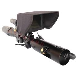 2019 Nieuwe Hot Outdoor Jacht Optic Sight Tactical Riflescope Infrarood nachtzicht met Zonnescherm NIEUWE LCD