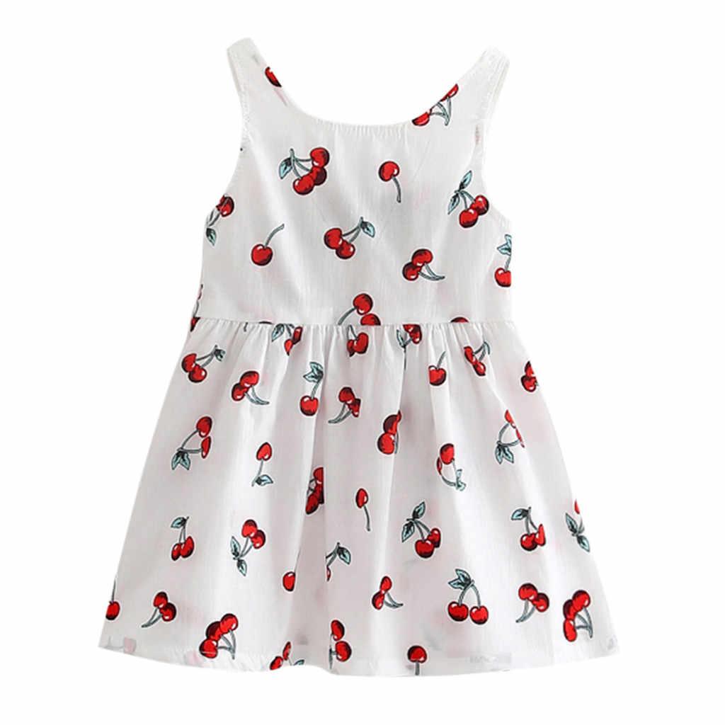 ARLONEET 2019 nuevo vestido de verano para bebés, vestido de princesa de verano para niñas, vestido de fiesta de bebé, vestidos de boda sin mangas Z0207