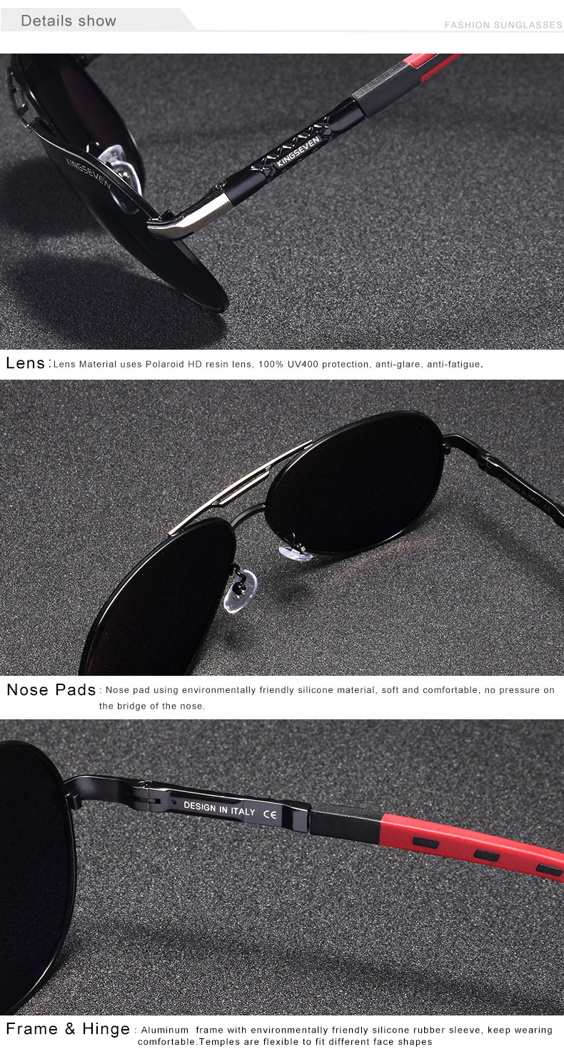 HTB1tIogJ4SYBuNjSsphq6zGvVXaj 7-Day Delivery GIFTINGER Vintage Aluminum Polarized Sunglasses Brand Sun glasses Coating Lens Driving EyewearFor Men/Wome N725