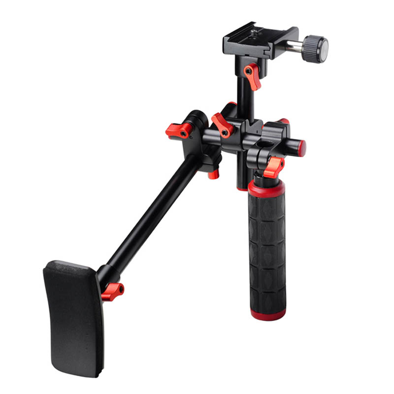 Aputure MR-V1 Professional Handheld Stabilizer Video Camera Shoulder Bracket Camera Steadicam for Canon Nikon DSLR Camcorder DV free ship professional new video capture stabilizer bracket shoulder rig for canon nikon dv dslr hd digital camera camcorder