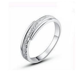 Free shipping bestselling Brush Finish Sterling Silver rings wholesale jewelry 1pcs/lot|Rings| - AliExpress