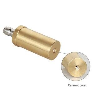 Image 4 - High pressure pure copper rotary nozzle 3600PSI domestic 360 degree ceramic spool wash nozzle