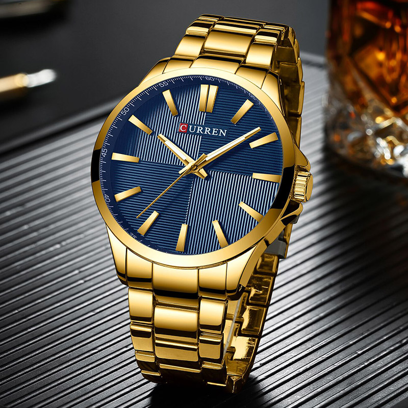 Curren Fashion Military Quartz Watches Men Luxury Brand Male Watches Waterproof Men's Watches Top Brand Luxury Man Watch 2019(China)