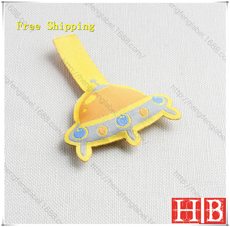 Free Design & Free Shipping Customize Children clothing labels/ Kids garment labels / woven label/ main label KID002