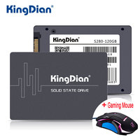 KingDian SSD 60GB 120G 240GB 480G S200 S280 With Gaming Mouse New Style SATA3 2 5