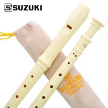 High-Quality SUZUKI SRG-200 Germany Type 8-Holes Soprano Recorder/ Flute Student Beginner Recorder