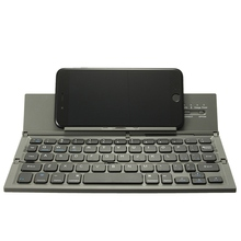 Foldable Bluetooth Keyboard Portable Wireless Keyboard for Table PC Laptop Mini Keypad QWERTY Holder for IOS for Android Windows