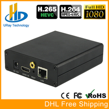 DHL Frete Grátis HEVC H.265/H.264 HDMI Codificador De Vídeo/Transmissor Suporte RTSP RTMP Codificador de Transmissão Ao Vivo Para O Ao Vivo de streaming