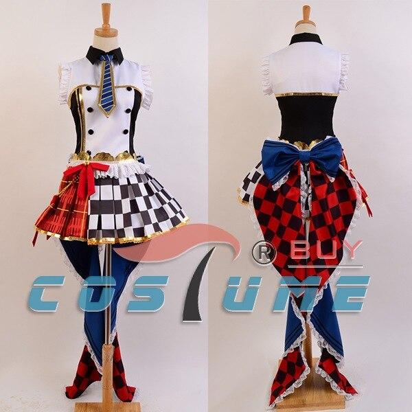 8e6b54d8b0dc4f Love Live Café Maid Cosplay Costume LoveLive Rin Hoshizora Meidofuku  Réveiller Cosplay Costumes Pour Femmes Robe Halloween Carnaval