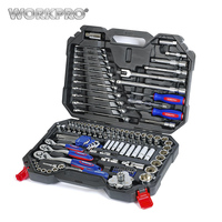 Free Shipping WORKPRO 123 Piece SOCKETocket Set