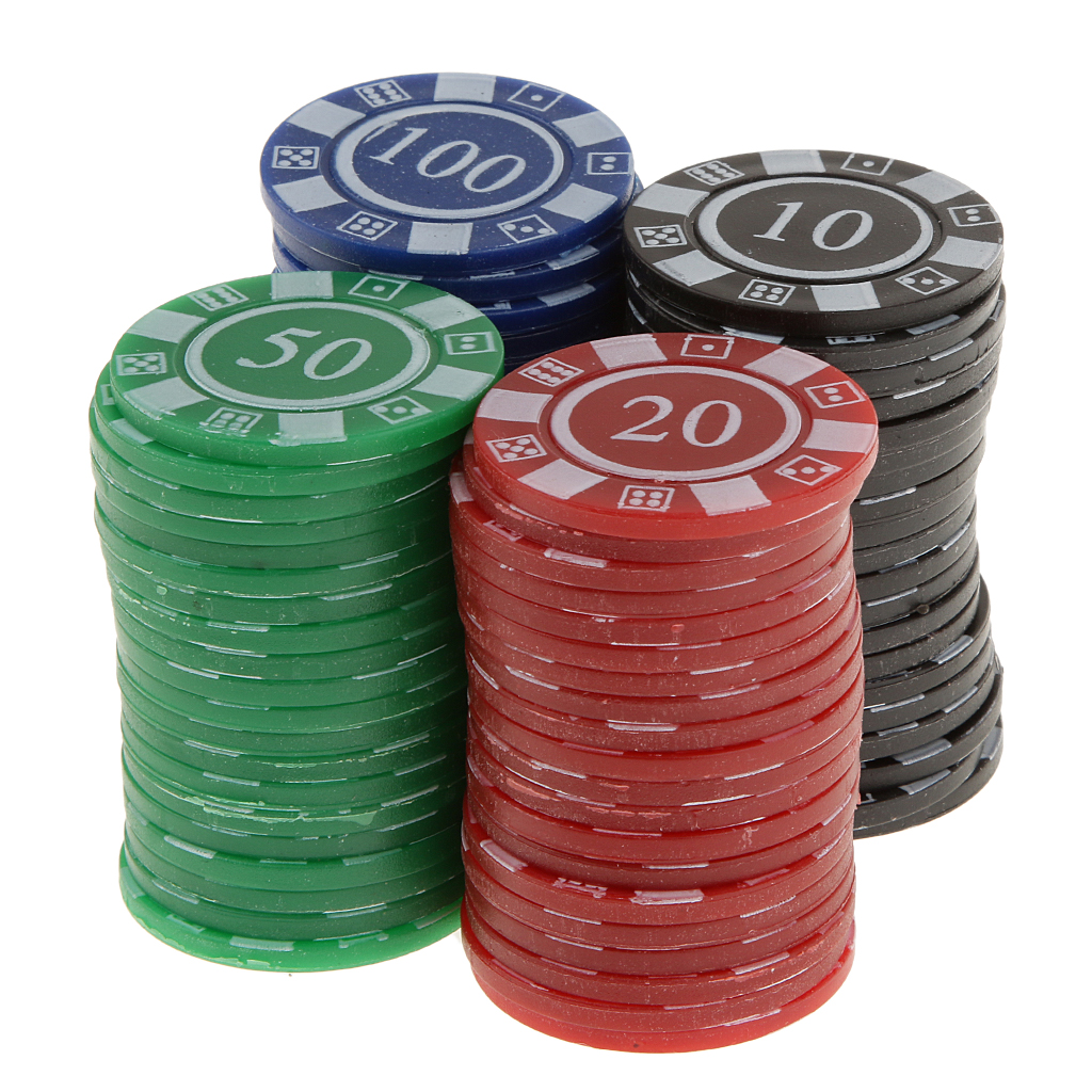 80pcs Plastic Poker Chips Professional Casino Poker Chip Set Cards Game Toy Red Green Blue Black Poker Chips Aliexpress
