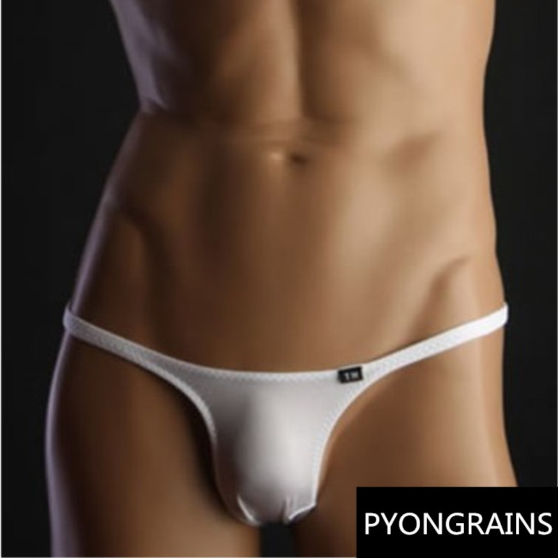 Sexy gay underwear multi colors see through male g string Men thongs transparent String jockstrap gay underwear micro thongs