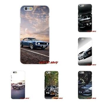 サムスンギャラクシーS3 S4 S5ミニS6 S7エッジS8 S9プラス注2 3 4 5 8携帯電話用携帯電話ケースカバー新しい1967フォードマスタングシェルビーGt500
