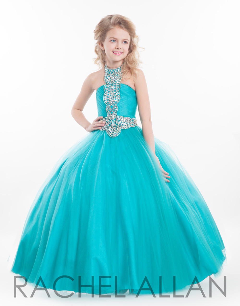 Online Buy Wholesale blue prom dresses children from China blue ...