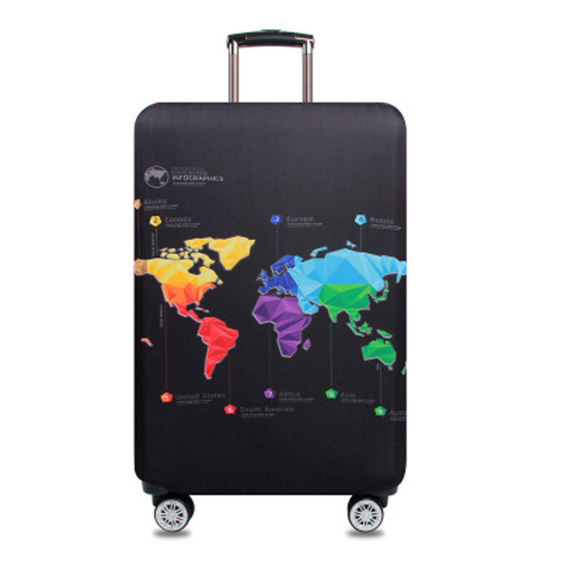 Suitcase Elastic Protective Cover Luggage Cover Travel Accessories Suitable For 18 To 32 Inch Trolley Suitcase Case H112