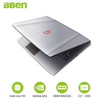 Bben Gaming Laptop Notebook Computer With Intel I7 6700K 4cores NVIDIA GeForce GTX970M 32GB DDR4 M