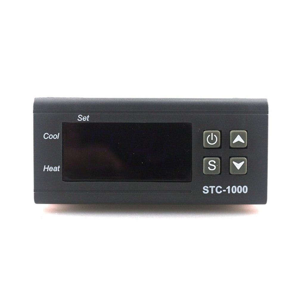 STC 1000 цифровой термостат инкубатор температура контроллер два реле выход СВЕТОДИОДНЫЙ LED 110 В 220 12 24 10A тепла Прохладный