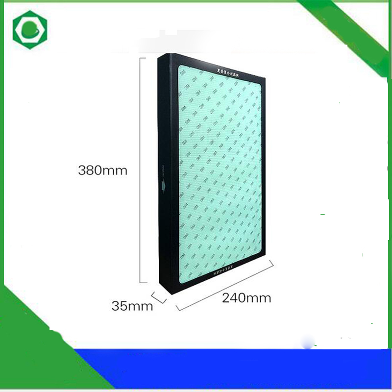 5 In 1 Replacement Heap Filter KC/FU-Y180SW for Sharp KC/FU-Y180SW,KC/FU-GD10-W,KC-WE10-W,FU/GB10-W/A/P Air Purifier 1set replacement heap carbon filter for sharp air purifier fu 888sv fu p60s fu 4031nas 39 31 3 5cm 39 31 1cm