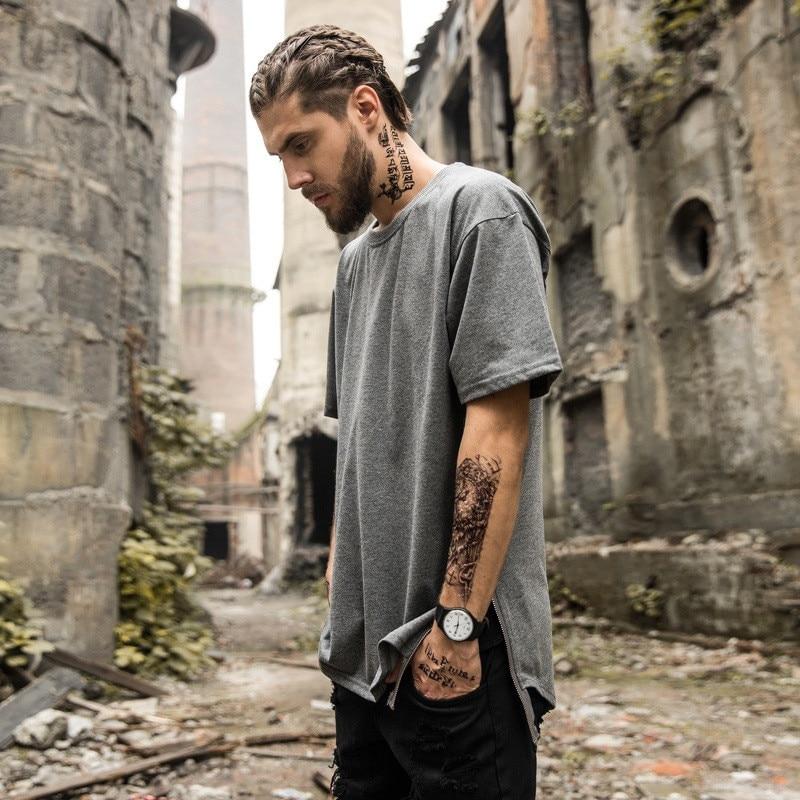 2018 cu mânecă scurtă T-shirt masculin Europa și Statele Unite - Imbracaminte barbati