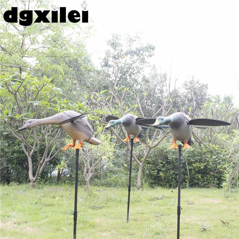 Leurres de chasse motorisés en plastique Dc 6 V canard de chasse avec ailes tournantes - 6