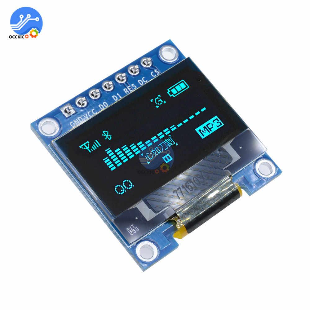 """0.96 인치 iic 직렬 oled 디스플레이 스크린 모듈 128x64 i2c lcd 스크린 보드 gnd vcc scl sda 0.96 """"arduino diy kit 용"""