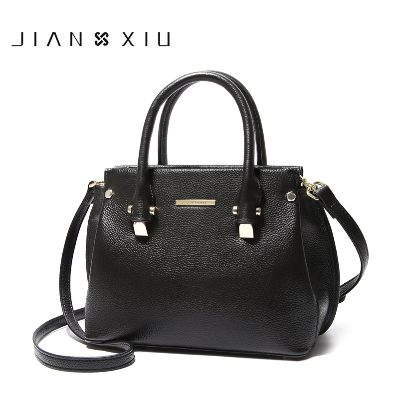 Women Genuine Leather Handbags Famous Brands Handbag Messenger Small Bags Shoulder Bag Tassen Sac a Main 2017 Fashion Borse Tote women small bag crossbody bag shoulder messenger bags leather handbags women famous brands bolsa sac a main femme de marque