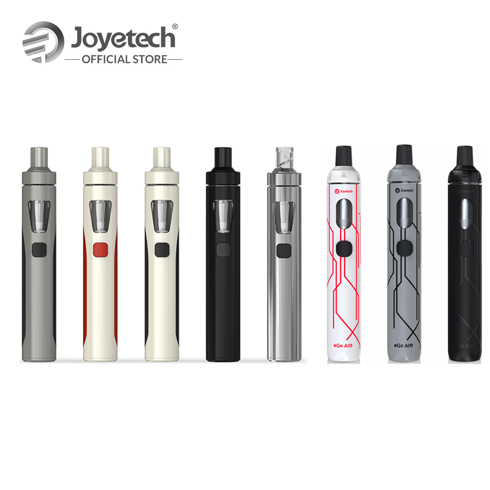 Recentemente Originale Joyetech eGo AIO Kit 10th Anniversary limited edition eGo Aio Costruito in 1500 mah Batteria 0.6ohm BF SS316 bobina E Cig
