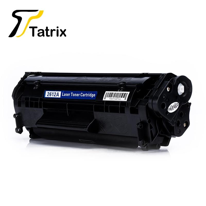 Tatrix Q2612A 12A Тонер картриджі HP LaserJet 1010 1012 - Кеңсе электроника - фото 3