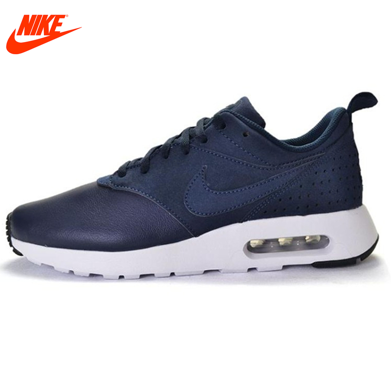Original New Arrival Official NIKE Leather Surface AIR MAX Men's Running Shoes Low Top Sneakers Outdoor Walking Jogging Athletic цена