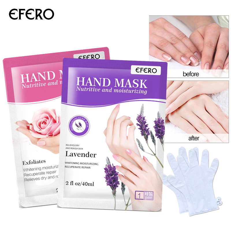 Hand Mask Paraffin Wax Exfoliating Mask for Hands Care Peeling Nourish Moisture Whitening Mask Cream for Hands Gloves Skin Care