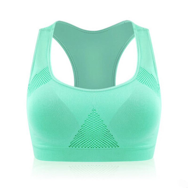 Professional Absorb Sweat Top Athletic Running Sports Bra Yoga Gym Fitness Top Women Seamless Padded Vest Tanks Bras M L XL Size