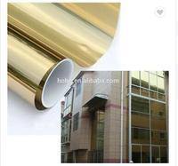 VLT14 % архитектурный оконная пленка Солнечный Золотой Серебряный зеркальный эффект 1,52 м X м 20 м