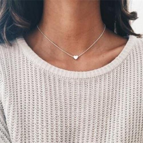 IF ME, винтажное многослойное ожерелье с кулоном из кристаллов, женские бусы золотого цвета, Лунная звезда, рога полумесяца, колье, ожерелье, ювелирное изделие, Новинка - Окраска металла: NJDY88925