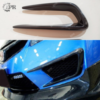 For Honda Civic 8TH GEN FD2 Carbon Fiber Front Bumper Air Vents Body Kit Auto Tuning Part For Civic FD2 Carbon Air Intake Cover