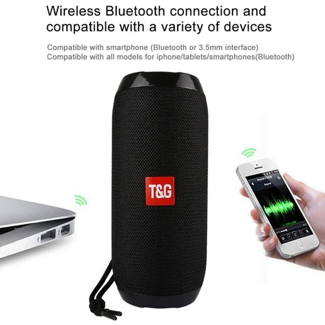 Portable Speaker 10W Wireless Bluetooth Speaker Column Bass Sound Bar Subwoofer Music Player Sound System