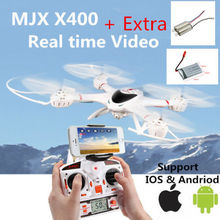 Free Shipping MJX X400 6 axis Gyro Roll Quadcopter Drone RC Helicopter C4005 WiFi FPV Camera