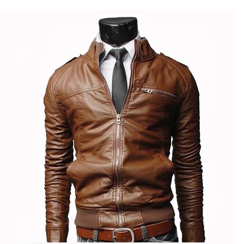 Mens Leather Long Coats Promotion-Shop for Promotional Mens ...