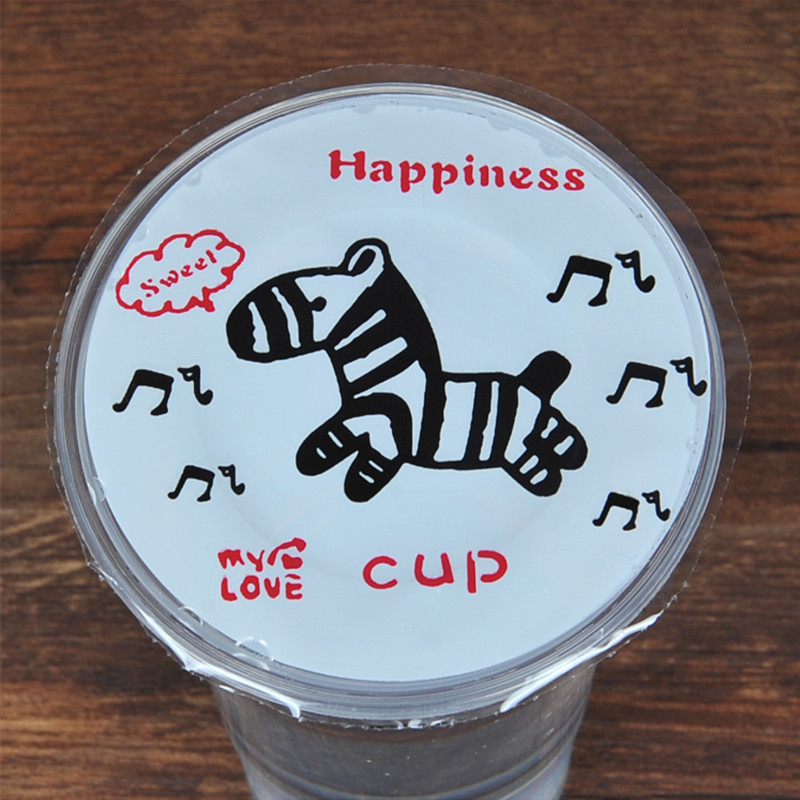 disposable bubble tea /milk tea /plastic cup sealing film for cup sealing machine