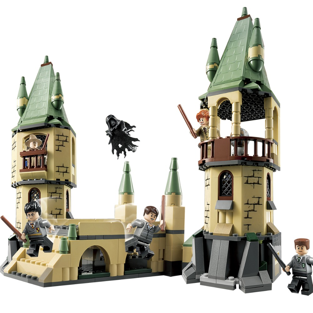 New Hogwarts Harry Death Eater Dementor Building Blocks Kit Bricks Classic Movie City Model Kids Toys Potter Compatible Legoings