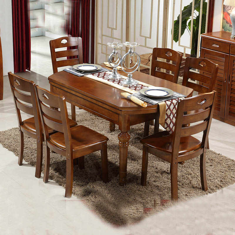 Мебель ресторанная комбинация Регулируемая складка современный простой обеденный столик