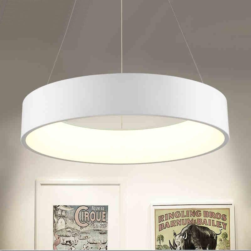 Minimalism agățat Modern Led Pandantiv Lumini pentru Sufragerie Bar - Iluminatul interior - Fotografie 6