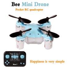 Kedior rc mini quadcopter drone nano 2.4g 4ch micro racing control remoto helicóptero toys con headless modo una clave volver