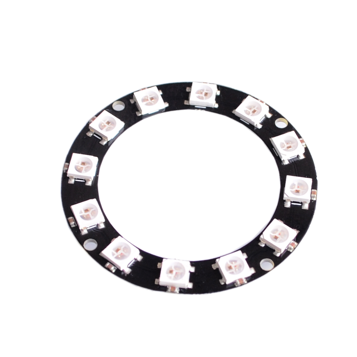 12 Bits 12 X WS2812 5050 RGB LED Ring Lamp Light with Integrated Drivers