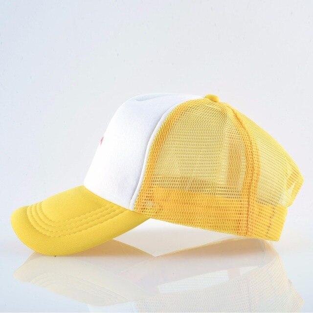 2018 Summer Baseball Cap Women Breathable Mesh Snapback Hip Hop Hat Print Flamingo Trucker Bone Men Outdoor Casual Couple Caps 1