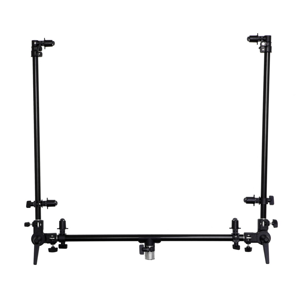 Meking Dual Arm Reflector Holder w/ Light Stand Mount Swivel Connector Free Angle Extension Pole for Studio Portrait Cover Shoo подвеска винтажная rto сумочка 3 с цепочкой