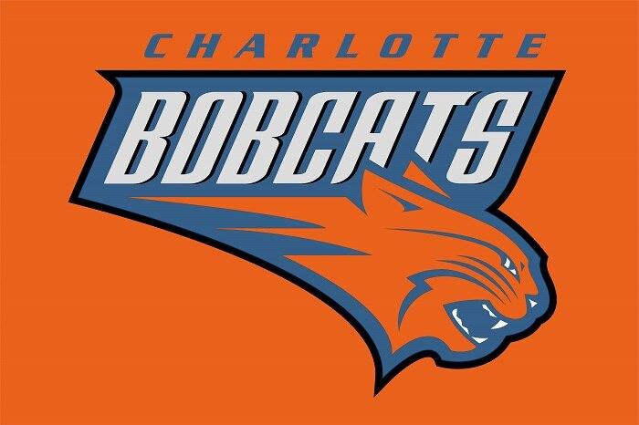 <font><b>Charlotte</b></font> <font><b>Bobcats</b></font> Flag 3ft x 5ft Polyester NBA <font><b>Charlotte</b></font> <font><b>Bobcats</b></font> <font><b>Banner</b></font> Flying Size No.4 144* 96cm QingQing Flag
