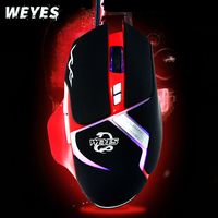 Wired Mouse For Iron Man 6D USB Wired Optical Gaming Mouse Para PC 3 Colores