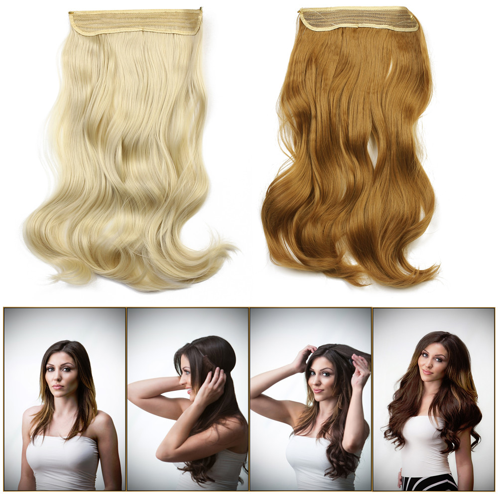2016 new hot 20inch 50cm 135g wavy hair extensions hairpiece 20inch 50cm 135g wavy hair extensions hairpiece hair pieces natural synthetic halo hair extension m01 on aliexpress alibaba group pmusecretfo Choice Image