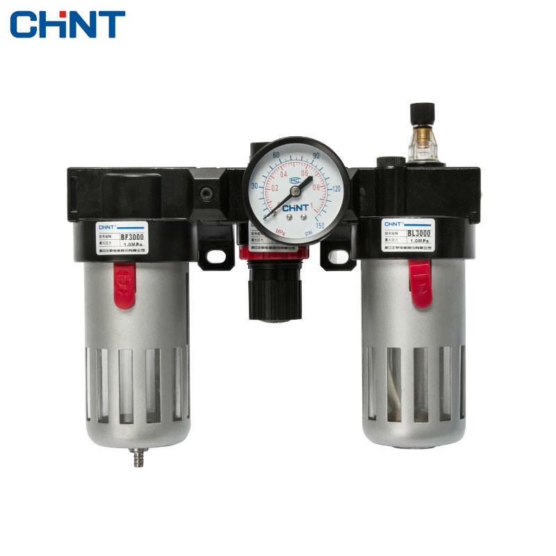 CHINT Pressure Valve Pneumatic Relief Valve Gas Handle Triple Paper Oil-water Separation Organ Filter 13mm male thread pressure relief valve for air compressor